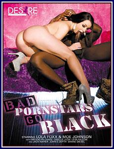 Bad Pornstars Go Black Porn DVD