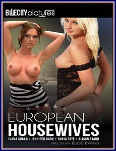 European Housewives Porn DVD