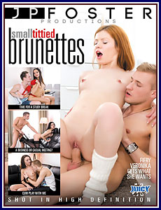 Small Tittied Brunettes Porn DVD