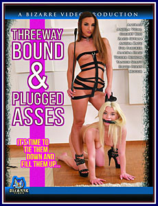 Threeway Bound and Plugged Asses