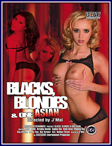 Blacks Blondes and One Asian Porn DVD
