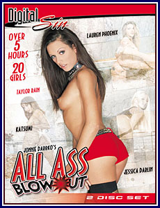 All Ass Blowout Porn DVD
