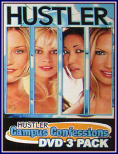 Campus Confessions 3 Pack Porn DVD