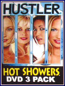 Hot Showers 3 Pack Porn DVD