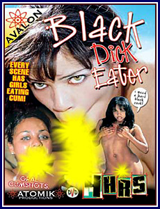 Atomik Productions Black Dick Eater Porn DVD