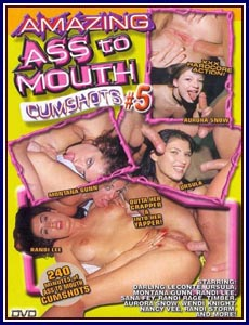 Amazing Ass to Mouth Cumshots 5 Porn DVD