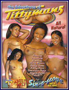 Adventures of Tittyman 5 Porn DVD