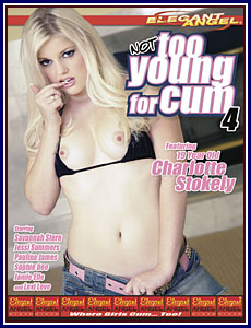 Not Too Young For Cum 4 Porn DVD