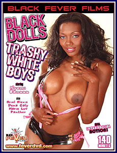 Black Dolls Trashy White Boys Porn DVD