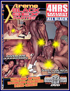 All Black - Xtreme Black Sex Parties Porn DVD