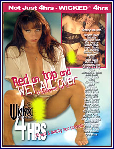 Red On Top And Wet All Over Porn DVD