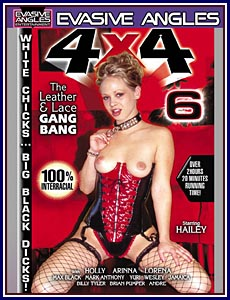 4 X 4 Leather and Lace Gangbang 6 Porn DVD