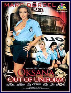 Oksana Out Of Uniform Porn DVD