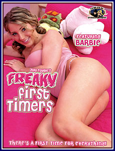 Freaky First Timers Porn DVD