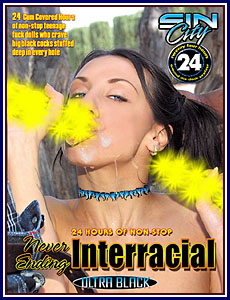 Never Ending Interracial Porn DVD