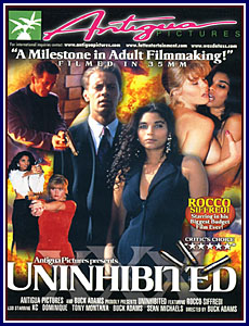 Uninhibited Porn DVD