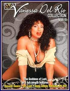 Vanessa Del Rio Collection Porn DVD