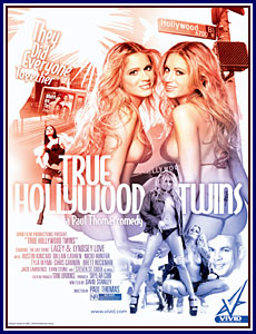True Hollywood Twins Porn DVD