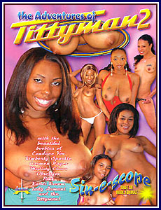 Adventures of Tittyman 2 Porn DVD