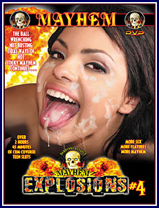 Mayhem Explosions 4 Porn DVD