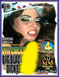 Spanish Fly - Latin Chicks Big Black Dicks Porn DVD