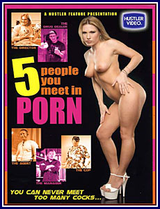 5 People You Meet In Porn Porn DVD