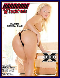 Hardcore Whores Porn DVD