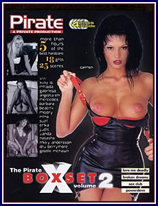 Pirate 2 Volumes 5 - 8 Box Set Porn DVD