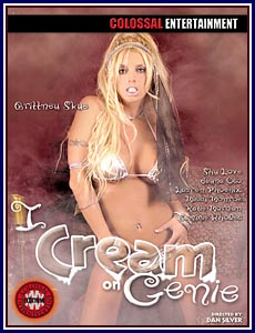 I Cream On Genie Porn DVD