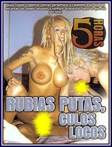 Rubias Putas, Culos Locos Porn DVD