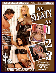 As Sleazy As 1 2 3 Porn DVD