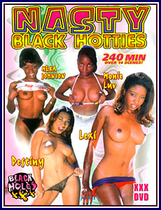 Black Holes - Nasty Black Hotties Porn DVD