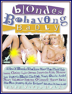 Blondes Behaving Badly Porn DVD