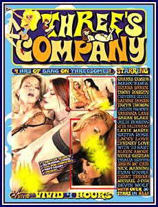 Three's Company Porn DVD