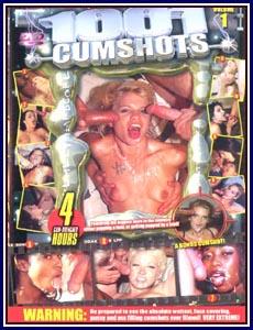 1001 Cumshots Porn DVD