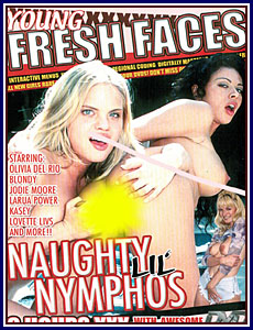 Young Fresh Faces - Naughty Lil' Nymphos Porn DVD