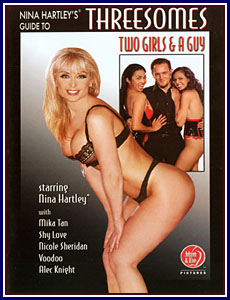 Nina Hartley's Guide to Threesomes Two Girls and a Guy Porn DVD