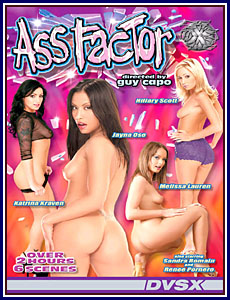 Ass Factor Porn DVD