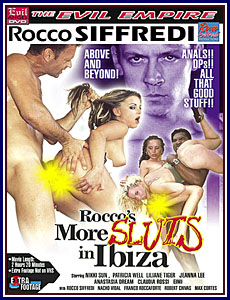 Rocco's More Sluts In Ibiza Porn DVD