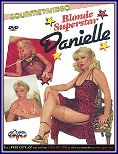 Blonde Superstar Danielle Porn DVD