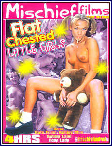 Flat Chested Little Girls Porn DVD