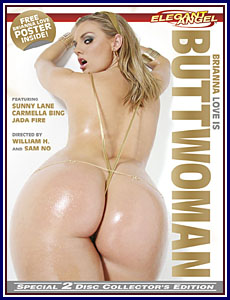 Brianna Love Is Buttwoman Porn DVD