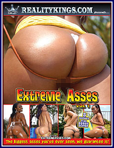 Extreme Asses Porn DVD