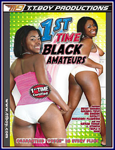 1st Time Black Amateurs Porn DVD