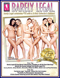 Barely Legal 75th Anniversary Collection Porn DVD