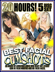 20 Hours of Best Facial Cumshots Porn DVD