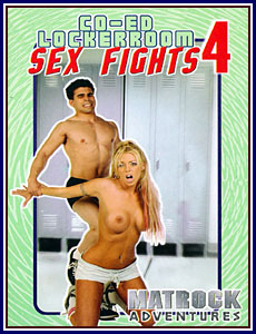 Co-ed Locker Room Sex Fights 4 Porn DVD