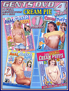 Gents DVD Cream Pie 4 Pack Porn DVD