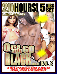 20 Hours of Once You Go Black 2 Porn DVD