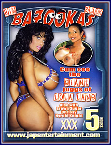 Afro Hotties - Big Black Bazookas Porn DVD